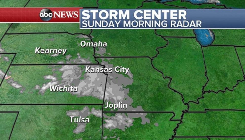 PHOTO: Parts of the Plains will have some cloud cover.