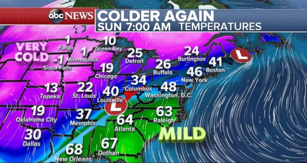 PHOTO: Its going to be very cold in parts of the Midwest.