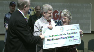 PHOTO Mega Millions lottery winner