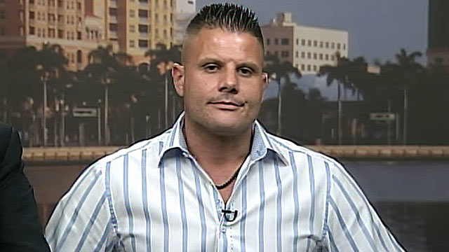 PHOTO: Mike Dippolito, whose wife was convicted of hiring a hitman to kill him, is shown during an interview with ABC, June 20, 2011.