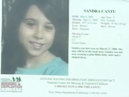 Video: FBI helps search for missing Sandra Cantu.