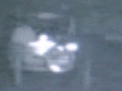 Video: Police say surveillance video shows murder suspect with dead body.