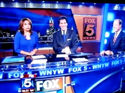 Video: News anchor Ernie Anastos drops f-word during live broadcast.