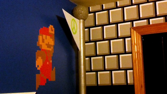Super Mario Bros. Bedroom Looks, Sounds Like Classic Game