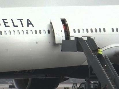 VIDEO: Delta Passenger Sets Off Small Explosive