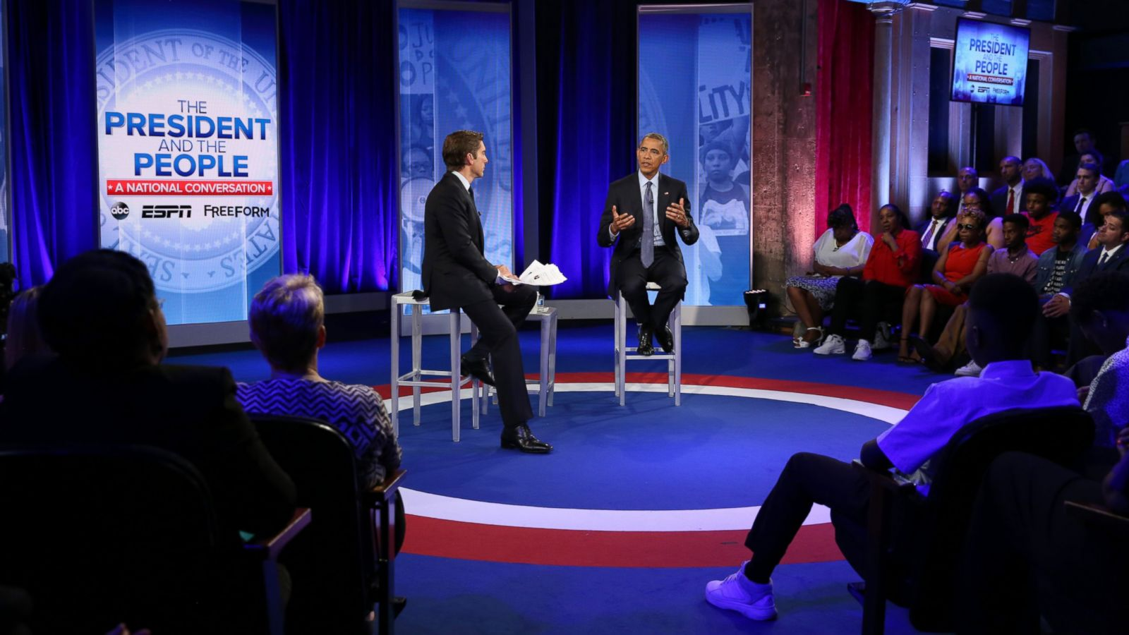 'It's Not Us Versus Them,' Obama Says in Town Hall