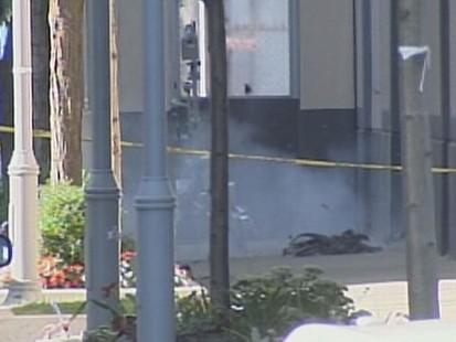 Video: Bomb scare at Harpo studios.