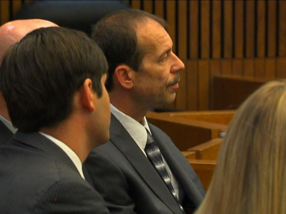 PHOTO: Theodore Wafer sits in court during his trial in Detroit in this frame grab, Aug. 7, 2014.