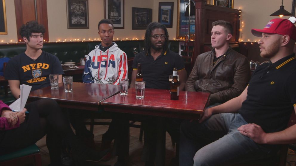 "A select group of Proud Boys members agreed to meet with ""Nightline"" at a bar in New York City."