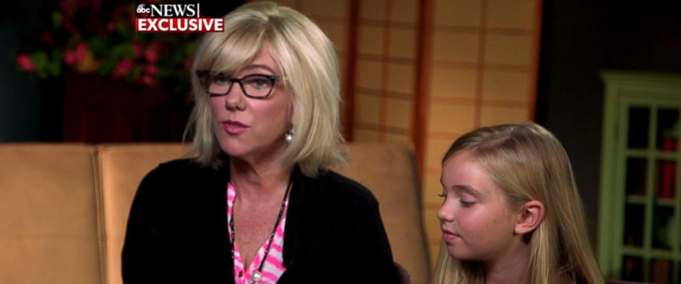 "PHOTO: Rielle Hunter talks about her life now with 8-year-old daughter Quinn in an interview with Amy Robach for ""Good Morning America."""