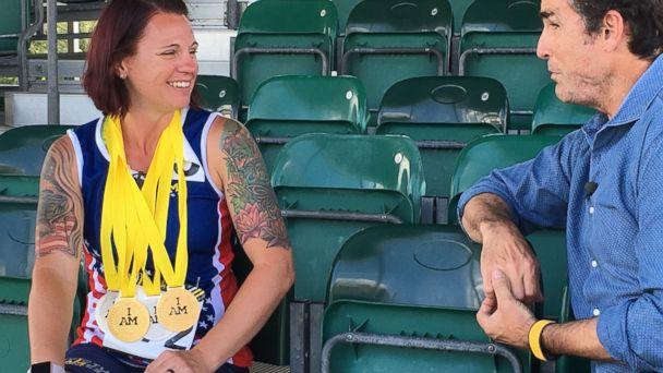 First American to Take Home Gold Medal Becomes Most Decorated Competitor at Invictus Games