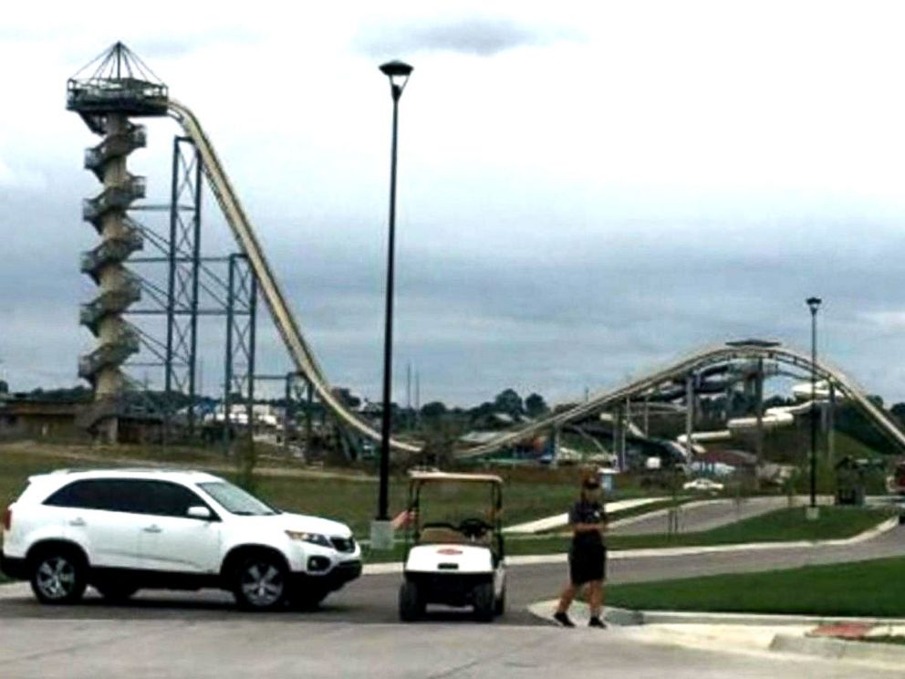 PHOTO: A 10-year-old boy was killed today in an accident on a ride at the Schlitterbahn Water Park in Kansas City, Kansas, officials said.
