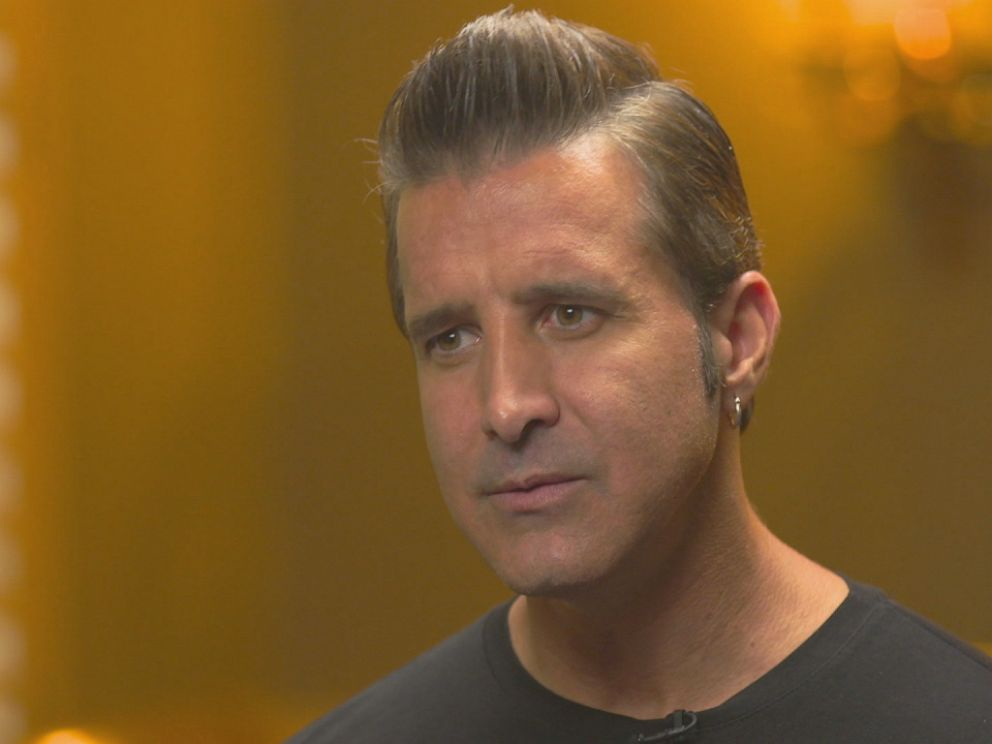 PHOTO: Scott Stapp is seen here during an interview with Nightline.