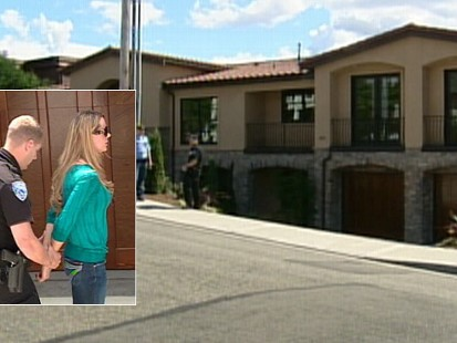 Video: Squatter arrested after taking over multi-million dollar home.