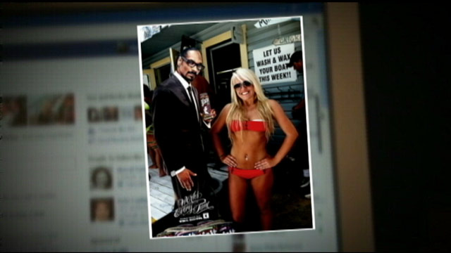 PHOTO: A Georgia woman is suing her former school district for using a facebook photo of her wearing a red bikini she posted online to warn students against the public nature of social media.