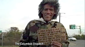 PHOTO: Homeless Man With a Golden Radio Voice