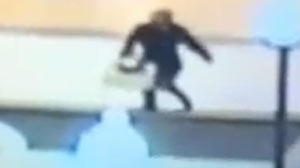 PHOTO A Pennsylvania womans fall into a fountain at a local mall after text messaging while walking has taken on a life of its own when video of the incident goes viral online.