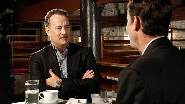 PHOTO: Tom Hanks and Bob Woodruff