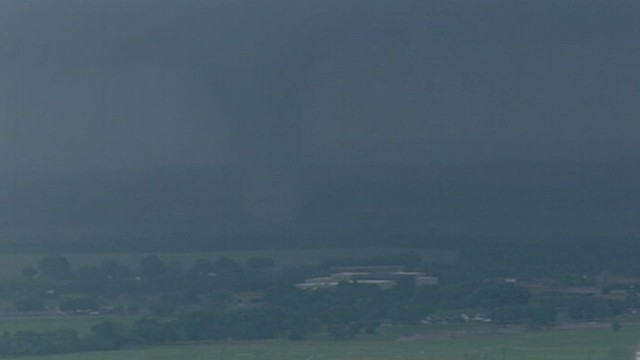VIDEO: Twisters carve path of destruction through north Texas.