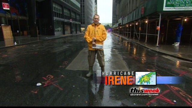 VIDEO: ABC News Sam Champion tracks Hurricane Irenes path.