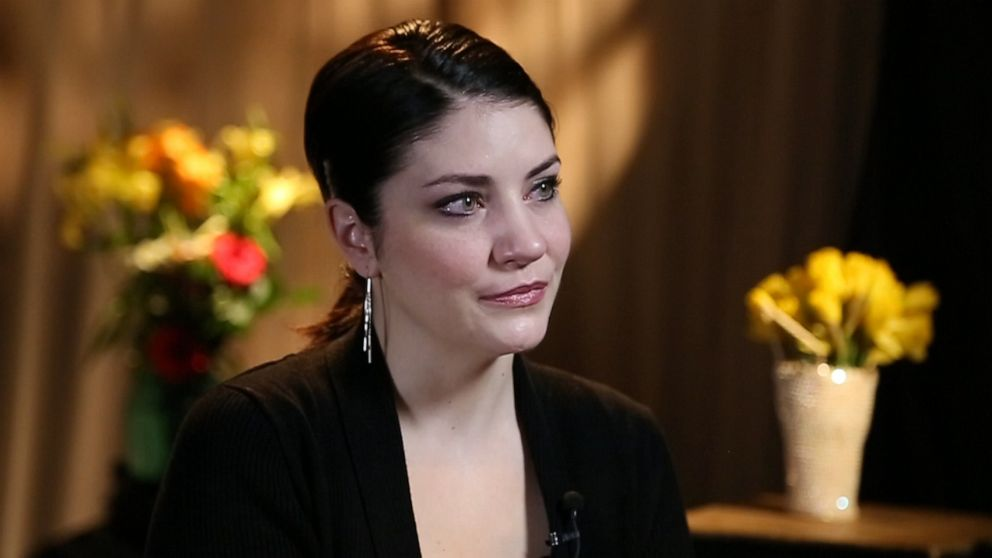 Vanessa Pond is seen here during an interview with 20/20.