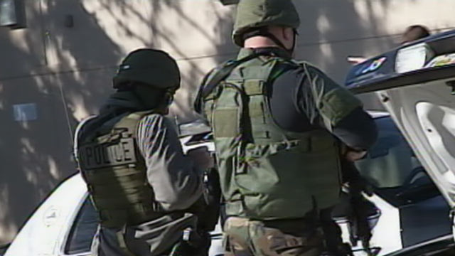 PHOTO: Virginia Tech went on lockdown after a gunman opened fire on campus on Dec. 8, 2011.