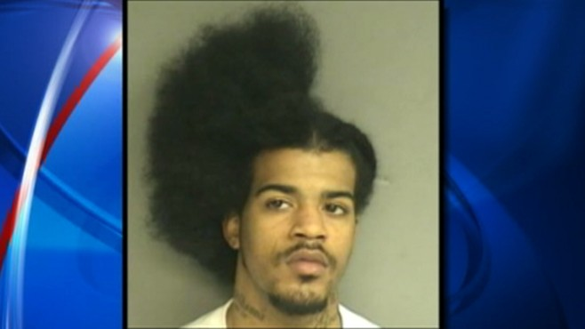 man arrested in haircut crime video