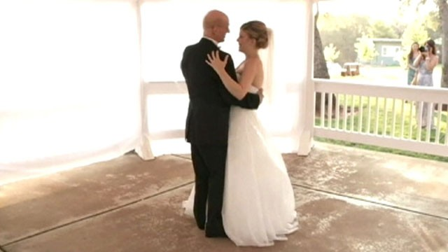Daughter Records Faux Wedding Dance With Dying Dad
