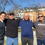From left to right: ABC's Whit Johnson is seen here with his uncle who lives in Wyoming, his father and his other uncle who lives in Utah.