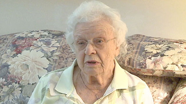 PHOTO:A 94-year-old woman said she was removed from her wheelchair for additional screening.