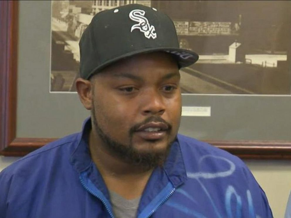 PHOTO: Jamal Jones and his family are filing charges against an Indiana police department after officers smashed their car windows during a routine traffic stop.