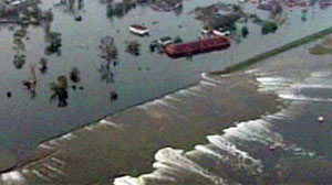 PHOTO The victims of Hurricane Katrina, their lives uprooted and homesteads washed away, will finally get their day in court today as a landmark trial opens in New Orleans to consider whether the government made a deadly storm even worse.
