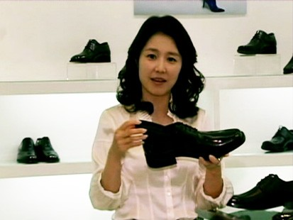 "VIDEO: South Korean men are turning to ""magic shoes"" to give them a boost in height."