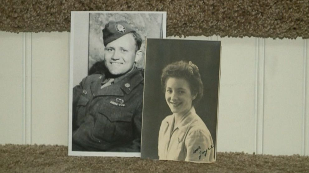 Norwood Thomas recently reunited with Joyce Durrant Morris, a girl he dated while he was deployed outside London, UK during the war, after over 70 years apart.