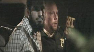 PHOTO Najibullah Zazi is arrested by federal agents in connection with an investigation into an alleged al Qaeda plot