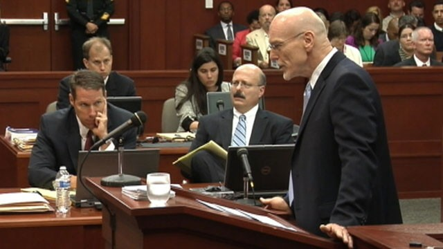VIDEO: George Zimmerman's lawyer delivers a joke to jurors in his opening statements.