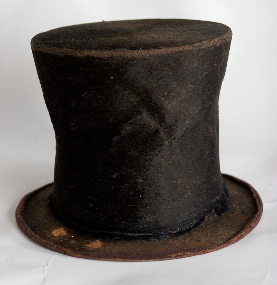 PHOTO: Abraham Lincolns iconic stovepipe hat is photographed at the Abraham Lincoln Presidential Library and Museum in Springfield, Ill., June 14, 2007.
