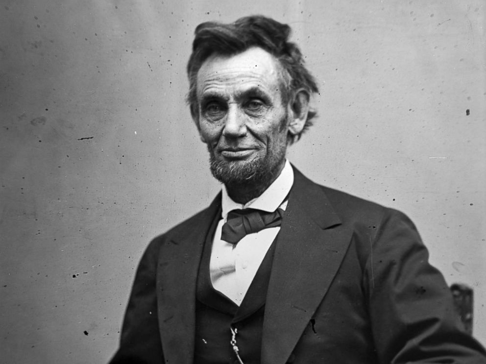 PHOTO: President Abraham Lincoln sits for a portrait on Feb. 5, 1865.