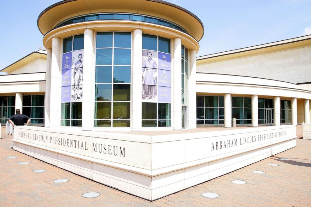 PHOTO: The Abraham Lincoln Presidential Museum, in Springfield, Ill. is pictured on May 5, 2012.