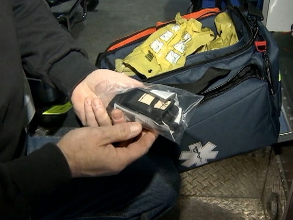 PHOTO: First responders in Nashua are equipped with tourniquets, special blood clotting bandages, and roll-out stretchers to be able to help victims as quickly as possible.