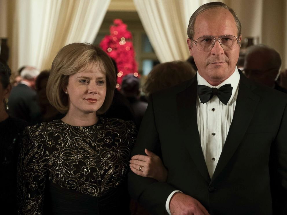 PHOTO: Amy Adams as Lynne Cheney and Christian Bale as Dick Cheney in Vice.