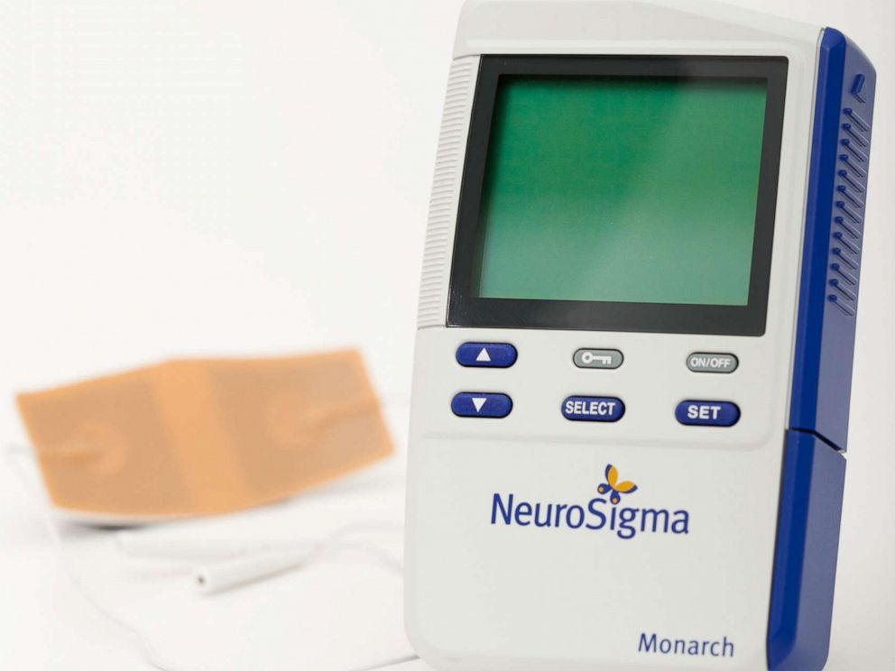 PHOTO: NeuroSigmas Monarch eTNS System as the first non-drug treatment for pediatric ADHD approved by the FDA.
