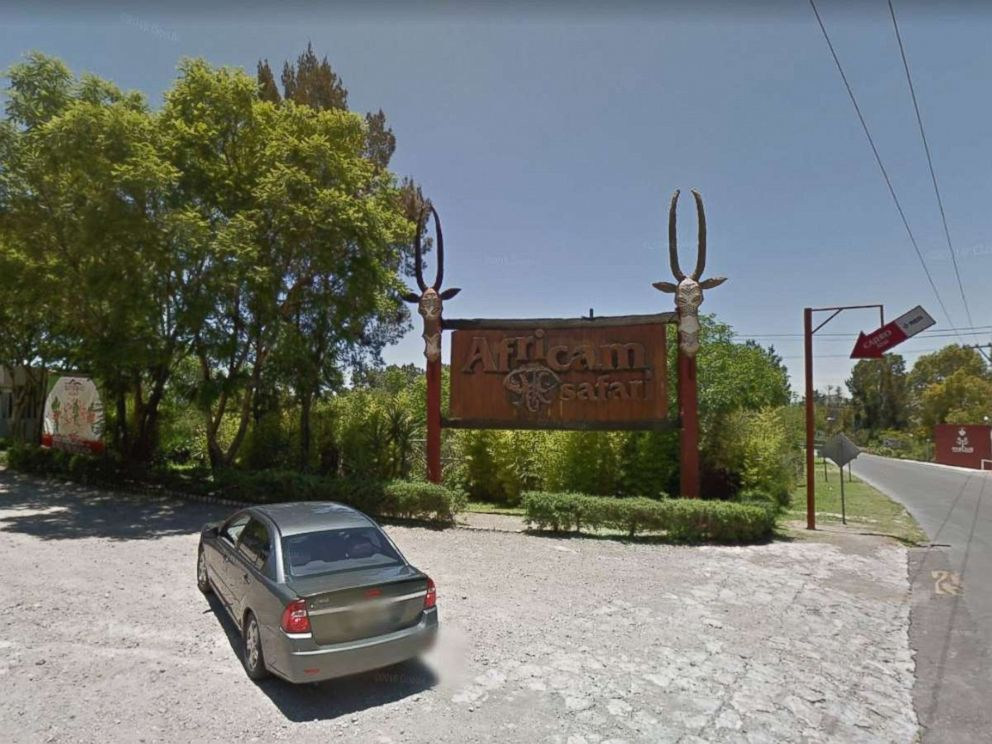 PHOTO: Africam Safari in Puebla Mexico entrance is pictured in this undated Google Maps image.