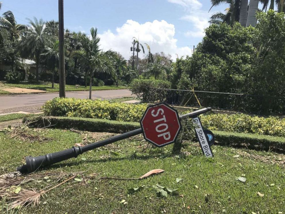 PHOTO: Naples, Florida, in the aftermath of Hurricane Irma.