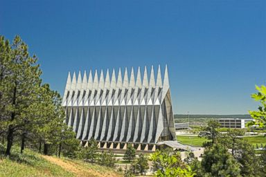 PHOTO: The US Air Force Academy Chapel.