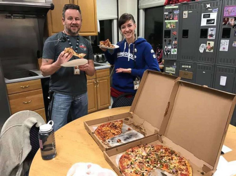 Portland Maine were sent pizzas from their Canadian counterparts as part of a show of solidarity amid the ongoing U.S. government shutdown