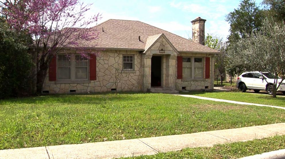 PHOTO:Chelsea and Tim McGoverns San Antonio, Texas property that was allegedly rented out to a rowdy Airbnb guest that threw a destructive house party.