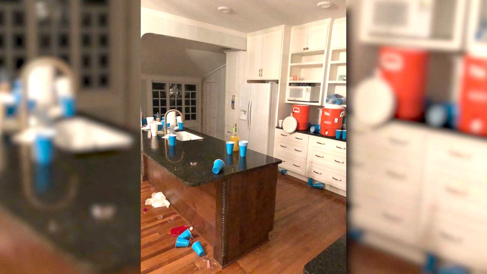 Airbnb guest accused of throwing wild house party that
