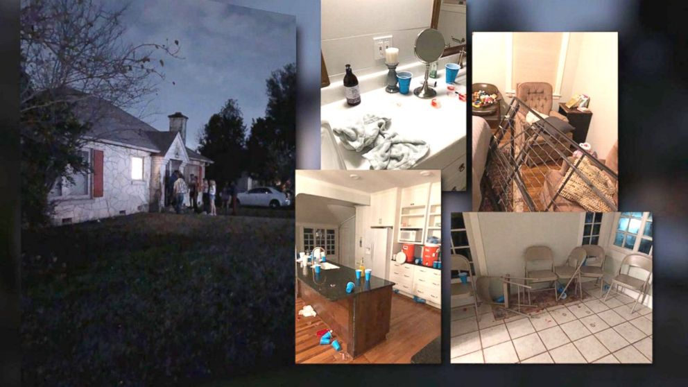 Airbnb guest accused of throwing wild house party that caused over