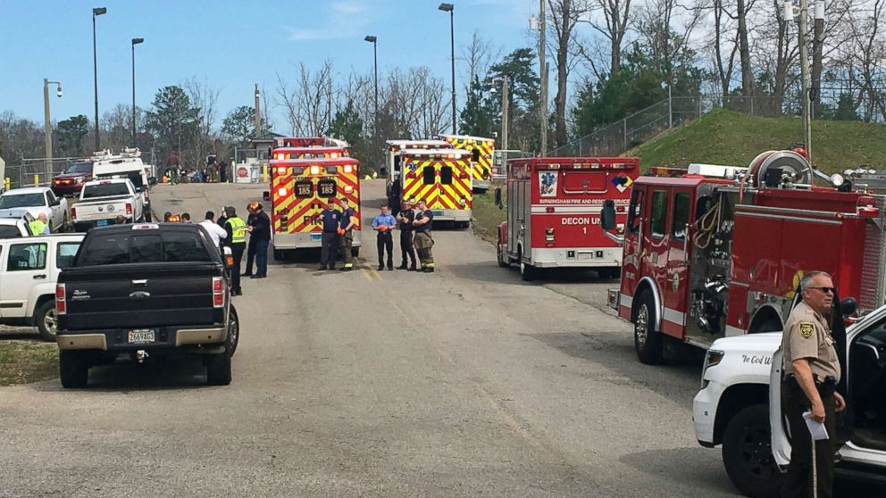 More than 50 taken to hospitals after 'accidental' chemical spill at Birmingham water treatment plant thumbnail